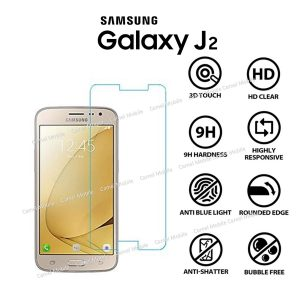 Samsung Galaxy J2 100% Tempered Glass Screen Protector-Clear