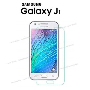 Samsung Galaxy J1  100% Tempered Glass Screen Protector-Clear