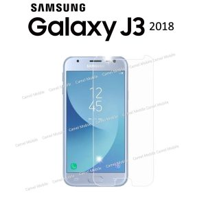 Samsung Galaxy J3 2018 100% Tempered Glass Screen Protector-Clear