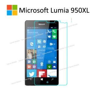Microsoft Lumia 950 XL 100% Genuine Tempered Glass Screen Protector – Clear