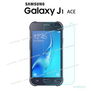 Samsung Galaxy J1 ACE 100% Tempered Glass Screen Protector-Clear