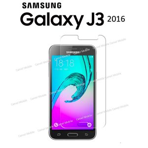 Samsung Galaxy J3 2016 100% Tempered Glass Screen Protector-Clear