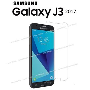 Samsung Galaxy J3 2017 100% Tempered Glass Screen Protector-Clear