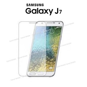 Samsung Galaxy J7 100% Tempered Glass Screen Protector-Clear
