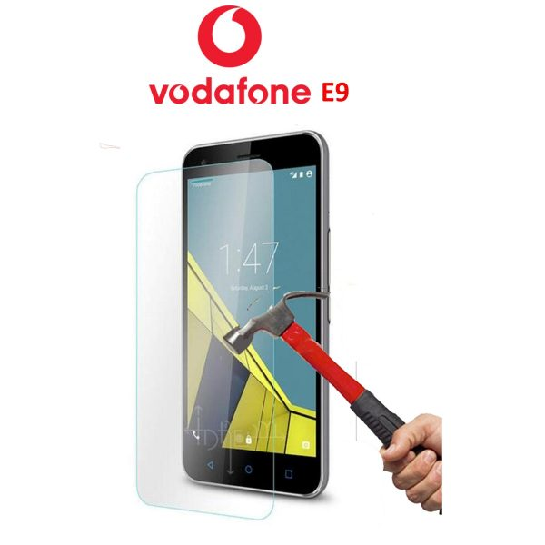 Vodfoen E9 100% Genuine Tempered Glass Screen Protector-clear