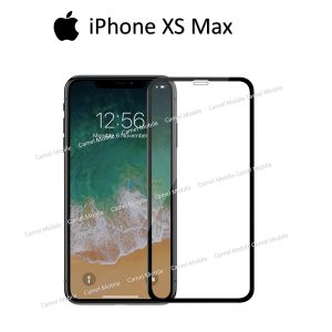 Apple iphone XS Max 100% Genuine Tempered Glass Screen Protector-Clear