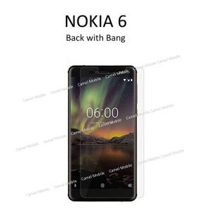 NOKIA 6 (2018) 100% Tempered Glass Screen Protector-Clear