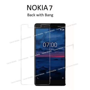 NOKIA 7 100% Tempered Glass Screen Protector-Clear
