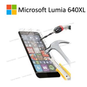 Microsoft Lumia 640 XL 100% Genuine Tempered Glass Screen Protector – Clear