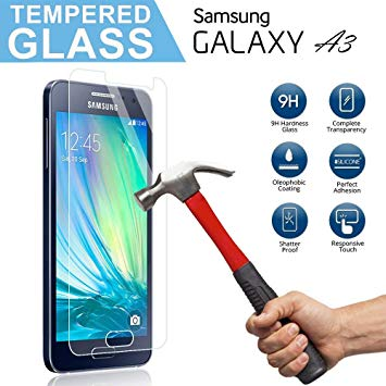Samsung Galaxy A3-Screen-Protector-Tempered-Glass