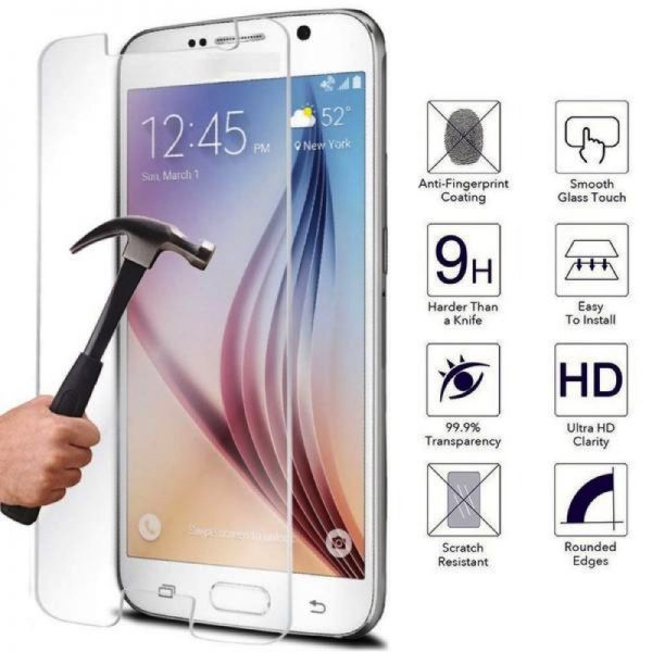Samsung Galaxy A3 100% Genuine Tempered Glass Screen Protector-clear
