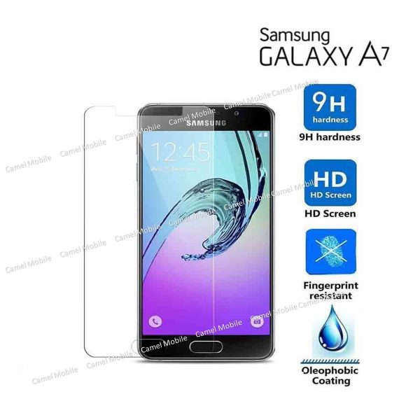 Samsung Galaxy A7 100% Genuine Tempered Glass Screen Protector-clear