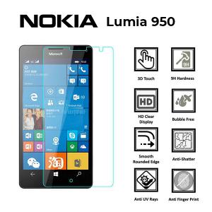 Microsoft Lumia 950 100% Genuine Tempered Glass Screen Protector – Clear