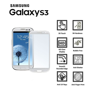 Samsung Galaxy S3 100% Tempered Glass Screen Protector-clear