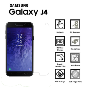Samsung Galaxy J4 Core Tempered Glass Screen Protector-clear