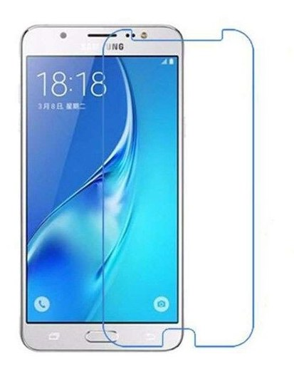 Samsung Galaxy J7 (2016) 100% Genuine Tempered Glass Screen Protector-clear