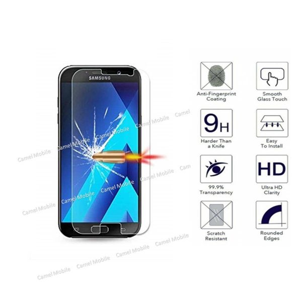 Samsung Galaxy A5 (2017) 100% Genuine Tempered Glass Screen Protector-clear