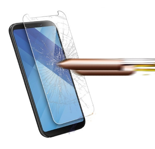 Samsung Galaxy A8 (2018) 100% Genuine Tempered Glass Screen Protector-clear