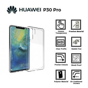 A BETTER MINIMALIST CASE for Huawei P30 Pro Ultra Thin [1.5mm] Slim Fit Flexible Soft TPU Case for Huawei P30 Pro