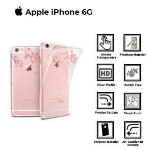 A BETTER MINIMALIST CASE for iPhone 6G, Ultra Thin [1.5mm] Slim Fit Flexible Soft TPU Case for iPhone 6G