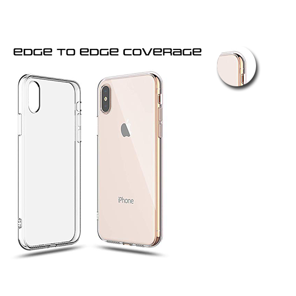 A BETTER MINIMALIST CASE for iPhone XS Max, Ultra Thin [1.5mm] Slim Fit Flexible Soft TPU Case for iPhone XS Max