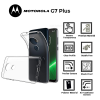 A BETTER MINIMALIST CASE for Motorolla G7 Plus, Ultra Thin [1.5mm] Slim Fit Flexible Soft TPU Case for Motorolla G7 Plus
