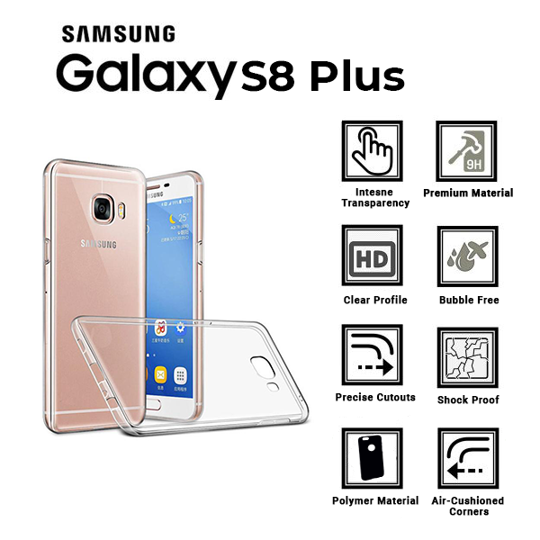 A BETTER MINIMALIST CASE for Samsung-S8 Plus, Ultra Thin [1.5mm] Slim Fit Flexible Soft TPU Case for Samsung-S8 Plus