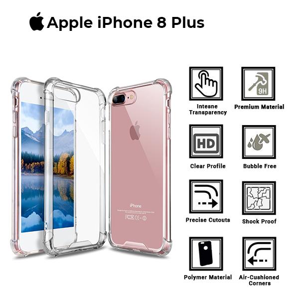 Apple iPhone 8 Plus Back bumper cover