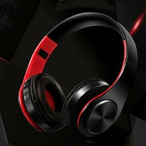 Folded Wireless Handfree Stereo Headphone