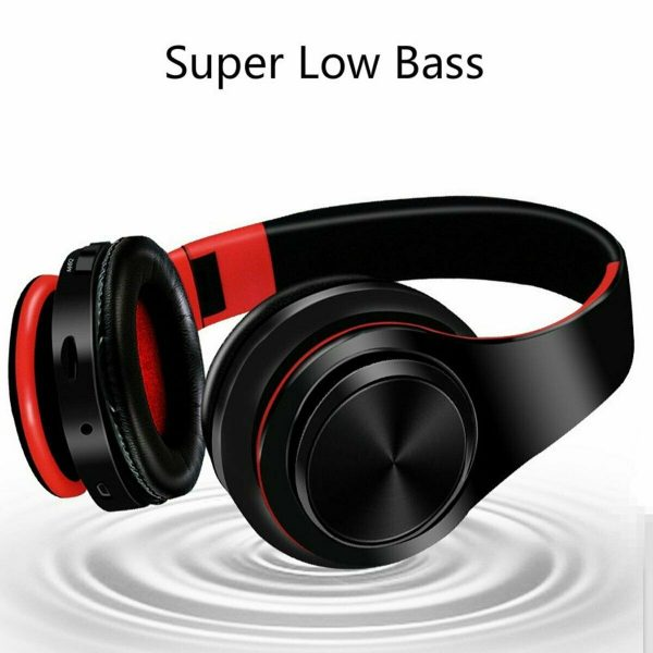 Folded Wireless Handfree Stereo Headphone Earphone Headset for SAMSUNG iPhone